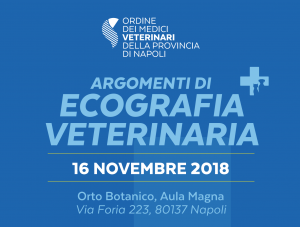 Avviso: Cambio Sede Corso Ecografia Veterinaria – 16 Novembre