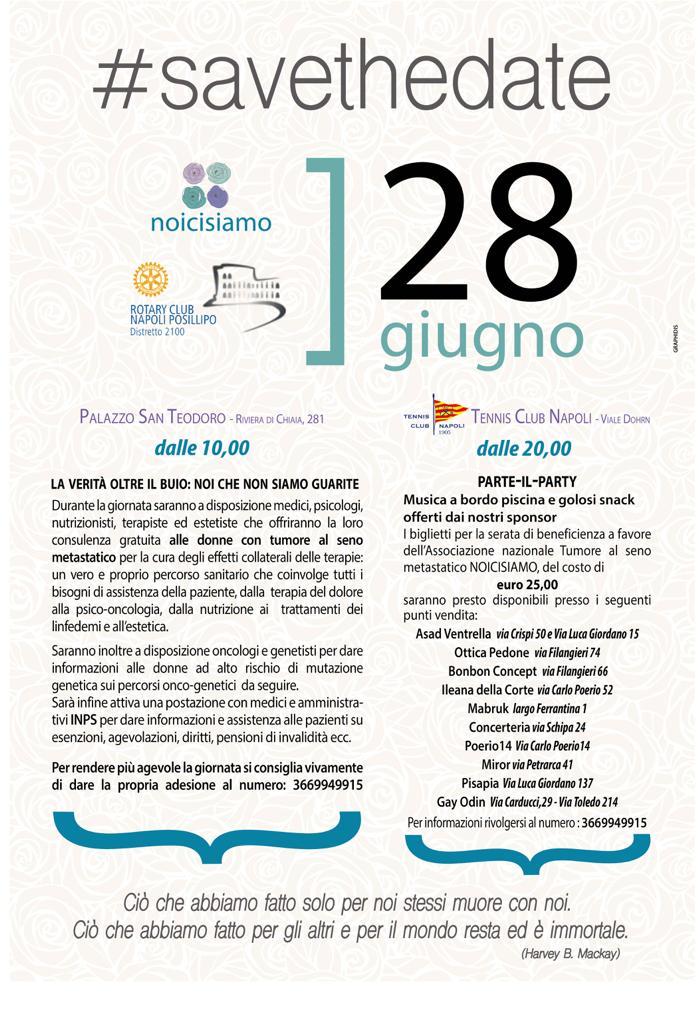 Evento #savethedate – 28 Giugno