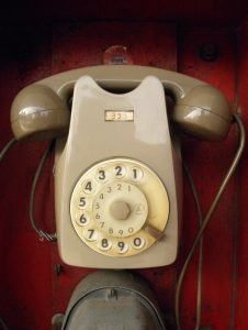 Avviso guasto telefonico