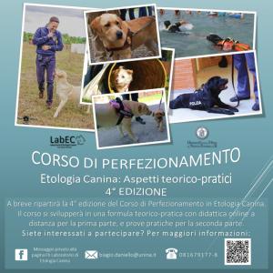 Corso di Etologia Canina